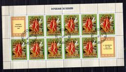 1969  Pâques, Peintures, 12x  314 + 316 – 317 Ø Feuillets De 10 Ou 9  Cote 21 €, - Burundi