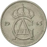 Suède, Gustaf VI, 50 Öre, 1965, TTB+, Copper-nickel, KM:837 - Suède