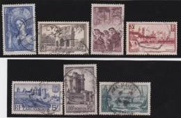 France   .    Yvert      .     388/394         .         O   .         Oblitéré - Frankrijk
