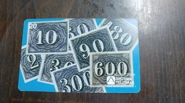 Brasil-sistema Telebras-verticais Ou Olhos-de-cabra-(1.1.1850)-(3)-used Card - Timbres & Monnaies
