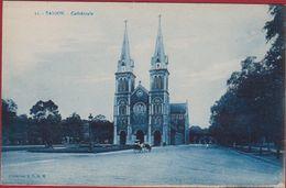 Vietnam Saigon Cathedrale - Viêt-Nam