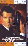 CHINA Telefonkarten Puzzle -James Bond - China