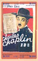 CHINA Telefonkarten Puzzle - Chaplin - China