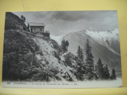 B10 4839 - 74 CHAMONIX - LA CABANE DES PYRAMIDES AUX BOSSONS - EDIT. L. L. N° 189 - ANIMATION - Chamonix-Mont-Blanc