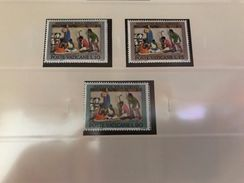 Vatican City Christmas Natale Mnh 1962 - Unused Stamps