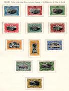 1894  Mols, Paysages, 14 / 25 *, Cote 92,50 €, - Belgisch-Kongo
