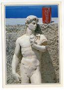 Pub --  Publicité COCA-COLA  Sur Carte Postale De Grèce Représentant Une Statue Ancienne--taxe Au Verso - Cartes Postales