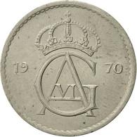 Suède, Gustaf VI, 50 Öre, 1970, TTB+, Copper-nickel, KM:837 - Suède