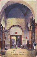 Syrie Syria Syrien Damaskus Damascus Damas L' Entree De La Grande Mosquee Moskee Mosque Illustrateur Illustrator - Syrie