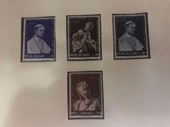 Vatican City Expo New York Mnh 1964 - Unused Stamps