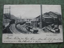 CHARLEROI - FOSSE SACRE MADAME 1902 ( Scan Recto/verso ) - Charleroi