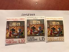 Vatican City Christmas Natale Mnh 1964 - Unused Stamps