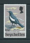 Seychelles 1972 Rare Birds 65c Magpie Robin MNH - Seychelles (...-1976)