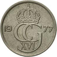 Suède, Carl XVI Gustaf, 10 Öre, 1977, SUP, Copper-nickel, KM:850 - Suède
