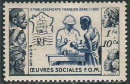 India RF 1950. Michel #304 VF/MNH. Overseas Fund. Doctor Treats Child. (Ts48) - India (1892-1954)