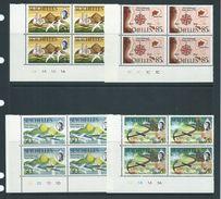 Seychelles 1970 St Anne Settlement Anniversary Set Of 4 MNH As Plate Number Blocks Of 4 - Seychelles (...-1976)