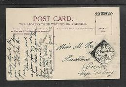 S.Africa, PPC  St Thomas Church Jersey Used 1905  > CERES, - Cape Of Good Hope (1853-1904)