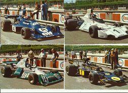 8 FORMULA UNO CARDS. 8 CARTOLINE DI AUTO F1 NON VIAGGIATE - Grand Prix / F1