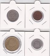 4 Pièces Divers Voir Détail - Réf X12 - Monnaies