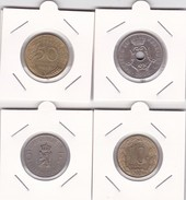 4 Pièces Divers Voir Détail - Réf X13 - Monnaies
