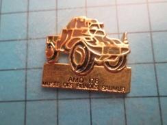 SP12 Pin's Pins / Rare , AMD 178 Matériel De Vaincus MUSEE DES BLINDES DE SAUMUR  ,  Belle Qualité ;  Marquage Au Dos : - Armee