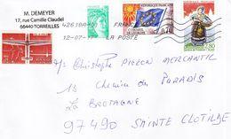 FRANCE - Enveloppe Ayant Circulée Le 12.07.2017 Vers L'île De La Réunion - Autres