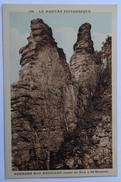 58 : Rochers Des Abeilles - Route De Dun à St-Brisson - Partiellement Colorisée - Morvan Pittoresque - (n°8613) - France