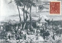 6547 Hungary CM With SPM Military Weapon Gun Battle History XIX Century Philately - Autres