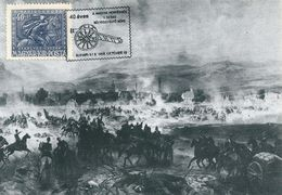 6550 Hungary CM With SPM Military Weapon Gun Battle History XIX Century Philately - Autres