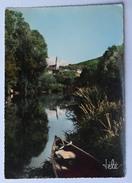 74 : Annecy - Basilique Et Monastère De La Visitation - Canal Du Thiou Et La Tournette - CPSM GF Colorisée - (n°8625) - Annecy