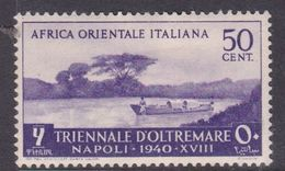 Italy-Colonies And Territories-Italian Eastern Africa S30 1940 First Triennial Overseas Exposition 50c Purple MH - Emissions Générales