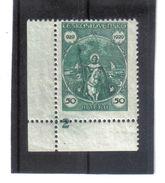 NEU64 TSCHECHOSLOWAKEI CSSR 1929  MICHL 283 Mit RANDZAHL 2 Postfrisch SIEHE ABBILDUNG - Tschechoslowakei/CSSR