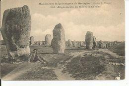 CARNAC   Alignements Du MENEC - Dolmen & Menhirs