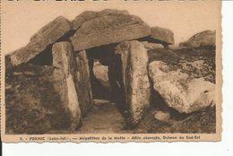 PORNIC   Megalithes De La Motte - Dolmen & Menhirs
