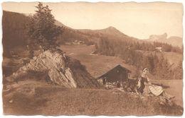Alpen - Animiert - Fotokarte - 1937 - Zwitserland