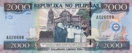 * PHILIPPINES 2000 PISO 2001 P.189b UNC COMM. [PH189b] - Philippines