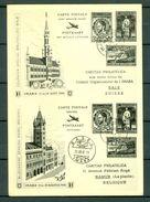 Caritas Philatelica Basel - Bruxelles IMABA 21-29 08 1948  (2 Scans) - BS Bâle-Ville