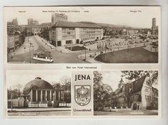 CPSM JENA Ou IENA  (Allemagne-Thuringe) - 3 Vues - Jena