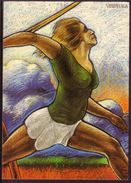 SPORT Athelitcs World Championship Finland 1983 Postcard #3493 - Finlande