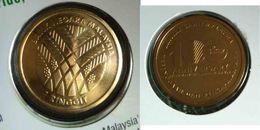 MALAYSIA 2017 100TH ANNIV OF THE MALAYSIAN PALM OIL NORDIC GOLD COIN (B.U.) Plant - Malaysia