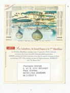 Calendrier Petit Format , 2000 , Pharmacie Centrale Guy-Belaud  , Vienne , L'ISLE JOURDAIN , 3 Scans - Calendars