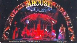 TELECARTE JAPON *  Carousel (44) Carrousel Karussel * PHONECARD Japan * TELEFONKARTE - Jeux