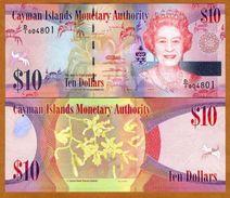 CAYMAN 10$ 2011 PNEW ~ UNC - Cayman Islands