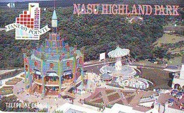 TELECARTE JAPON *  Carousel (48) Carrousel Karussel * PHONECARD Japan * TELEFONKARTE - Jeux