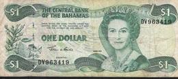 BAHAMAS  P70 1 DOLLAR  2002 FINE NO P.h. ! - Bahamas