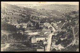 Pont-Trambouze - Vue Générale Panoramique - Carte Tachée - France