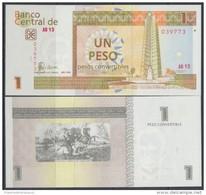 2006-BK-100 CUBA 2006 1 CUC. UNC. - Cuba