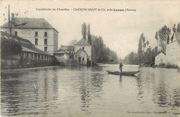 86 COUTELLERIES DE CHEZELLES - CHERON WOGT ET Cie PRES CENON ( CARTE INEDITE SUR DELCAMPE !! ) - Frankreich