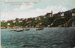CPA Turquie Turkey Circulé Régates Aviron Prinkipo Iles Des Princes - Turkey