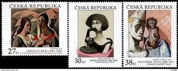 Czech Republic - 2016 - Works Of Art On Postage Stamps - Mint Stamp Set - Ungebraucht